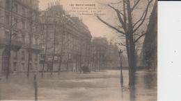 PARIS - 120 - PARIS INONDE - Cliché Du 28 Janvier 1910 ... - Le Boulevard Hausmann - Inondations De 1910