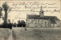 Cp Noyant Et Aconin Aisne, L'Église XIIe Et XIIIe Siècle - Autres Communes