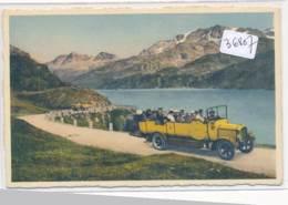 CPA-36867 - Suisse - Sils - Maloja - Ober Engadin - Da Postauto - Switzerland