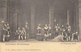 Opéra: Passionsspiel (La Passion) Oberammergau - Die Verspottung Christi - Carte Dos Simple Non Circulée - Opera