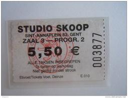 Ticket Gent Gand Cinema STUDIO SKOOP - Tickets - Vouchers