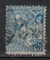 MONACO         N°  YVERT     25 (1)    OBLITERE       ( O   01 ) - Monaco