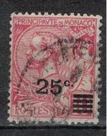 MONACO         N°  YVERT     52 (1)    OBLITERE       ( O   01 ) - Monaco