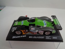 MG LOLA EX257 .  24 H Du Mans 2002 . # 27  M.Blundell,J.Bailey,K.McGarrity   1/43 -Altaya - Voitures, Camions, Bus