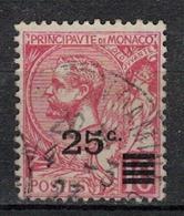 MONACO         N°  YVERT     52 ( 4 )    OBLITERE       ( O   01 ) - Monaco