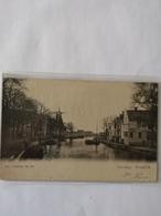 Dokkum (Frl.) Kleindiep Met Zicht Molen // 1905 Met GR Rinsumageest - Dokkum