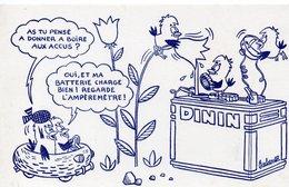Buvard ACCUS DININ (illustr Barberousse) (PPP8610) - Transports