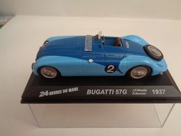 BUGATTI 57G .Vainqueur 24 H Du Mans 1937 . # 2  J-P Wimille,R.Benoist   1/43 -Altaya - Other