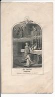 Image Pieuse XIXe Gravure Sainte Messe Sanctus Jésus Condamné à Mort - Editeur Bouasse-Lebel -  Holy Card - Images Religieuses