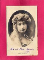 Célébrités, Artistes, Marie Follette, Carte Photo, 1903, (S.I.P.) - Artistes
