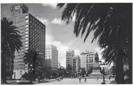 POSTAL    MONTEVIDEO  -URUGUAY  -PLAZA INDEPENDENCIA - Uruguay