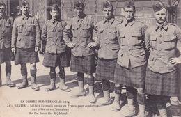 CPA - 44 - NANTES - La Guerre Européenne De 1914 - Soldats écossais Venus En France - 121 - Saint Nazaire