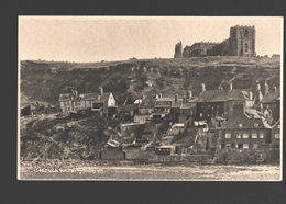 Whitby - Old Whitby - Photogravure Judge's - Single Back - 13,6 X 8,5 Cm - Whitby