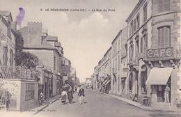CPA - 44 - LE POULIGUEN - La Rue Du Pont - 6 - Le Pouliguen