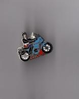 Pin's Police / Douanes - Amicale (motard EGF Argenté) Hauteur: 1,9 Cm - Police