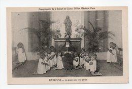 - CPA GUYANE - CAYENNE - La Prière Des Tout Petits - Edition Congrégation De St Joseph De Cluny - - Cayenne