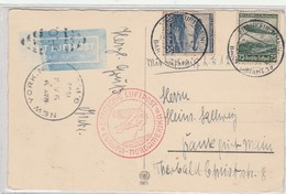 Europa-Nordamerika - Zeppelins
