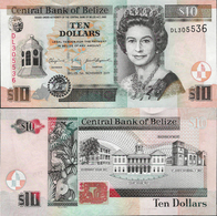 Belize 2011 - 10 Dollars - Pick 68d UNC - Belize