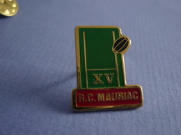 Pin's Rugby  R.C. MAURIAC - Rugby
