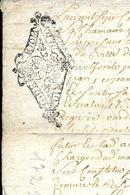 Cachets Generalité ACTE  De  MARIAGE Fait à  RIOM 63   En   1721 - Cachets Généralité
