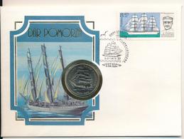 POLAND / POLSKA / POLEN  - 1980 , Numisbrief , 20 Zloty  50 Lat Dar Pomorza - Polen