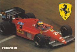 FERRARI F1 M.ALBORETO Saison 1986/1987 - Grand Prix / F1