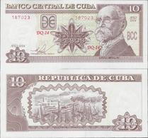Cuba 2014 - 10 Pesos - Pick 117p UNC - Cuba