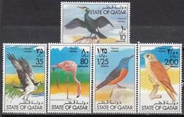 Qatar - BIRDS 1976 MNH - No Full Set / First Stamp Missing - Qatar