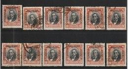 MiNr. 163 Chile /    1928/1932. Kursierende Freimarken Mit Aufdruck In Schwarz, Rot Oder Blau, Sehr Dünnes Bis Dickes Pa - Cile