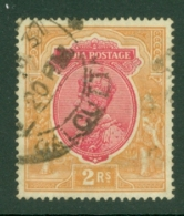 India: 1926/33   KGV      SG215    2R      Used - 1911-35 Roi Georges V