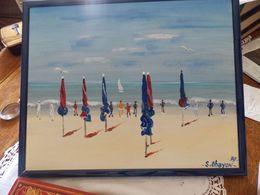 Peinture.2 Tableaux De OHAYON SAMUEL. - Oils