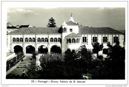 Evora. Palacio De D Manuel. - Evora