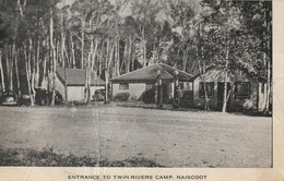 Entrance To Twin Rivers Camp, Naiscoot, Ontario Some Creasing - Ontario