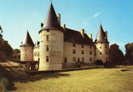 CPM - N7 - PUY DE DOME - VILLENEUVE LEMBRON - LE CHATEAU - FACADE SUR JARDINS - France
