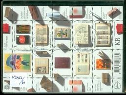 NEDERLAND * BLOK NVPH V 3452 - 3461 * JAAR VAN HET BOEK * BLOCK * BLOC * POSTFRIS GESTEMPELD - Periode 2013-... (Willem-Alexander)
