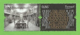 Portugal   2018 , The 250th. Anniversary Of Imprensa Nacional - Postfrisch / MNH / (**) - Ungebraucht