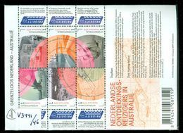 NEDERLAND *  NVPH V 3441 - 3446 * BLOK * BLOC * BLOCK * NETHERLANDS * POSTFRIS GESTEMPELD - Periode 2013-... (Willem-Alexander)