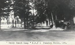 """Sandy Beach Camp"" R. R. #1 Fenelon Falls, Ontario Real Photo Post Card - Ontario"