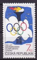 1993, Tschechische Republik, Ceska, 46, Olympisches Komitee (IOC).  MNH ** - Tschechische Republik