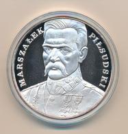 POLAND / POLSKA / POLEN / POLOGNE - 1990 , 200 000 Zloty  PP  , Josef Pilsudski , 155,5 Gr. Silber - Polen