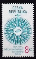 1995, Tschechische Republik, Ceska, 61, Welttourismusorganisation (WTO).  MNH ** - Czech Republic