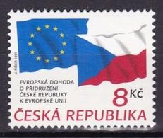 1995, Tschechische Republik, Ceska, 62, Mitglied Der EU. MNH ** - Unused Stamps