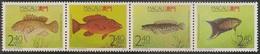 Macau Macao Chine 1990 - Peixes Da Região - Fish - MNH/Neuf - Neufs