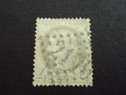 """1870-ceres N° 52- Oblitéré -""""4c Gris""""     Cote 120   Net    40 - 1871-1875 Cérès"""