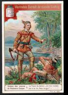 CHROMO LIEBIG , S 509, Scenes Des Oeuvres De F. Cooper, 1, Le Tueur De Daims, Indien - Liebig