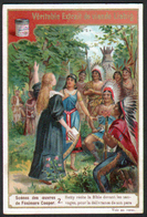 CHROMO LIEBIG , S 509, Scenes Des Oeuvres De F. Cooper, 2, Hetty Recite La Bible, Indien - Liebig