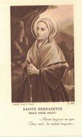 Sainte Bernadette Priez Pour Nous : IMAGE PIEUSE RELIGIEUSE Bouasse Z 362 HOLY CARD SANTINI HEILIG PRENTJE - Imágenes Religiosas