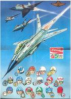 Affiche   Coca Cola   Aviation - Affiches