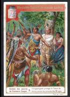 CHROMO LIEBIG , S 509, Scenes Des Oeuvres De F. Cooper, 3, Chingachgook Protege Le Tueur, Indien - Liebig