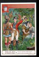 CHROMO LIEBIG , S 509, Scenes Des Oeuvres De F. Cooper, 4, Duncan Remercie Ucas, Indien - Liebig